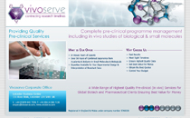 VIVO Serve - Pre-clinical Services