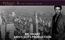Richmart made-to-measure suits